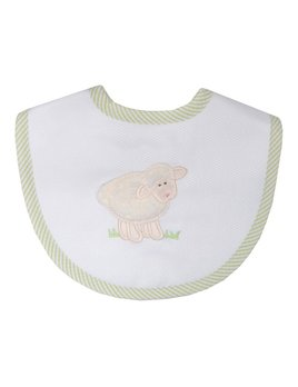 BIB White Lamb Medium Bib