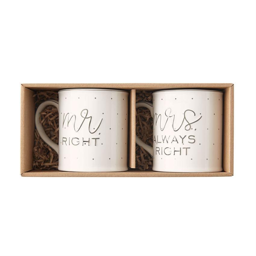 MUG Mr. & Mrs. Boxed Mug Set