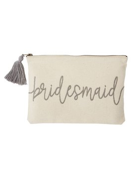 Pouch Bridesmaid Canvas Pouch