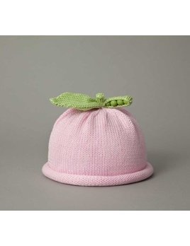HAT Pink Sweet Pea Knit Hat