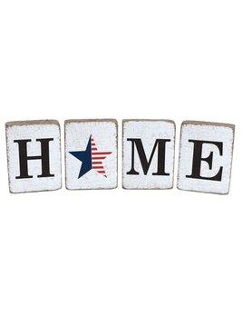 White Tumbling Block, Home Bundle, American Star