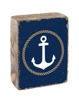 GOLD ROPE ANCHOR - BLOCK
