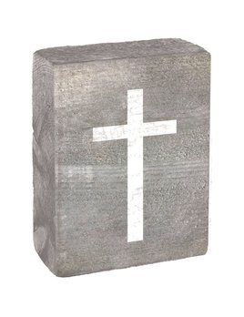 WHITE CROSS - BLOCK