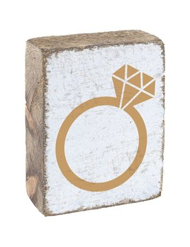 GOLD RING- BLOCK