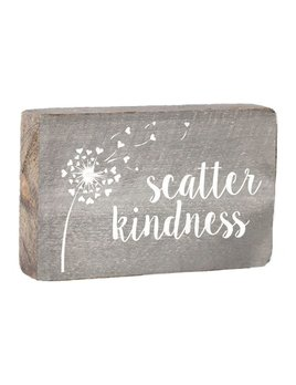 Scatter Kindness XL Block