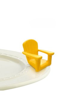 Nora Fleming Minis - Yellow Chair