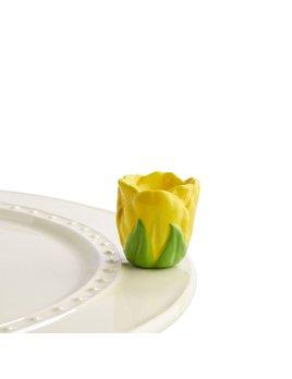 MINI ATTACHMENT Nora Fleming Minis - Yellow Tulip
