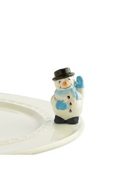 MINI ATTACHMENT Nora Fleming Minis - Snowman