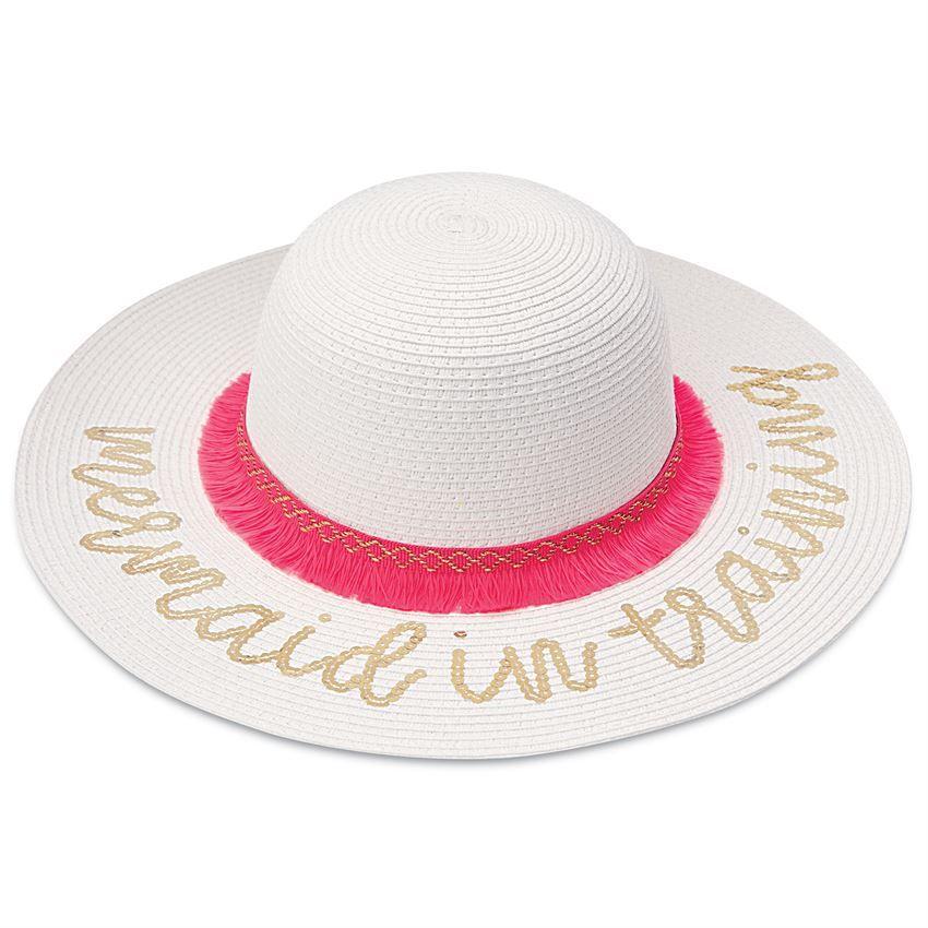 HAT Sequin Mermaid Sun Hat