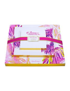 NOTEPAD Lilly Pulitzer Notepad Set, It's Summer Somewhere (Off the Grid)