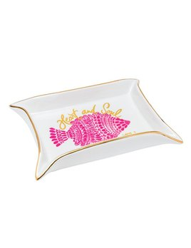 TRINKET TRAY Lilly Pulitzer Trinket Tray Set, Heart and Sole