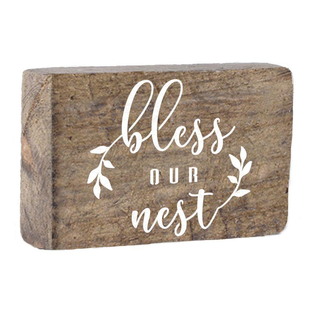 Bless Our Nest XL Block