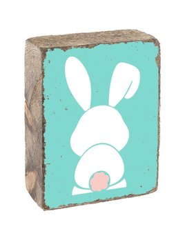 WHITE BUNNY - BLOCK