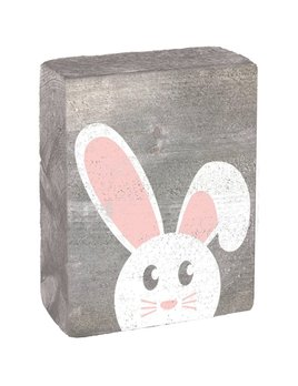PEEKING BUNNY - BLOCK