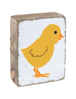YELLOW CHICK- BLOCK