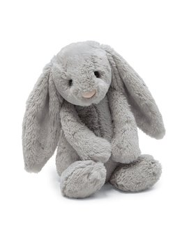 TOY Grey Bashful Bunny - Medium