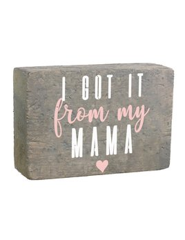 Rustic Block XL - From My Mama