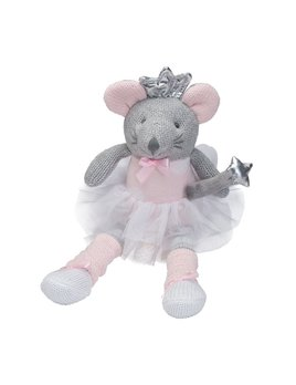 "TOY Knittie Bittie Doll - 10"" Mouse"