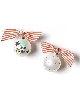 Babysitter Glass Ornament