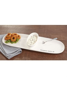 PLATTER Tailgate Sectioned Server Set