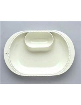 BOWL Nora Fleming Chip and Dip Bowl