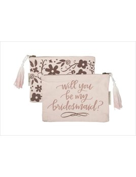 Pouch Zipper Pouch - Will You Be My Bridesmaid?