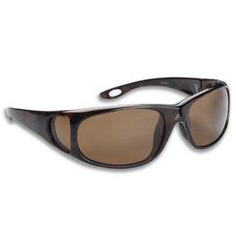 Fisherman Eyewear Grander (Brown Lens) Shiny Tortoise Frame