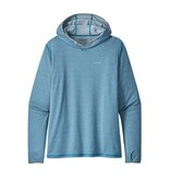 Patagonia Men's Tropic Comfort Hoody II Logo: Royal Gorge Anglers Stonebug sleeve drop