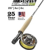You'll throw flies right where you want them with the Helios 3F 4-Weight 8½-Foot Fly Rod.