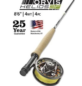 """Orvis Helios 3F 8'6"""" 4wt Outfit"""