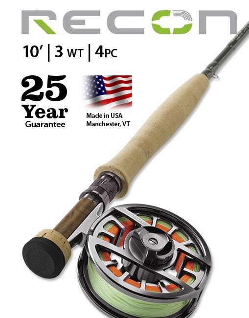 This ultra-sensitive, long-reach 3-wt fly rod is the ideal choice for tactical nymph fishing.