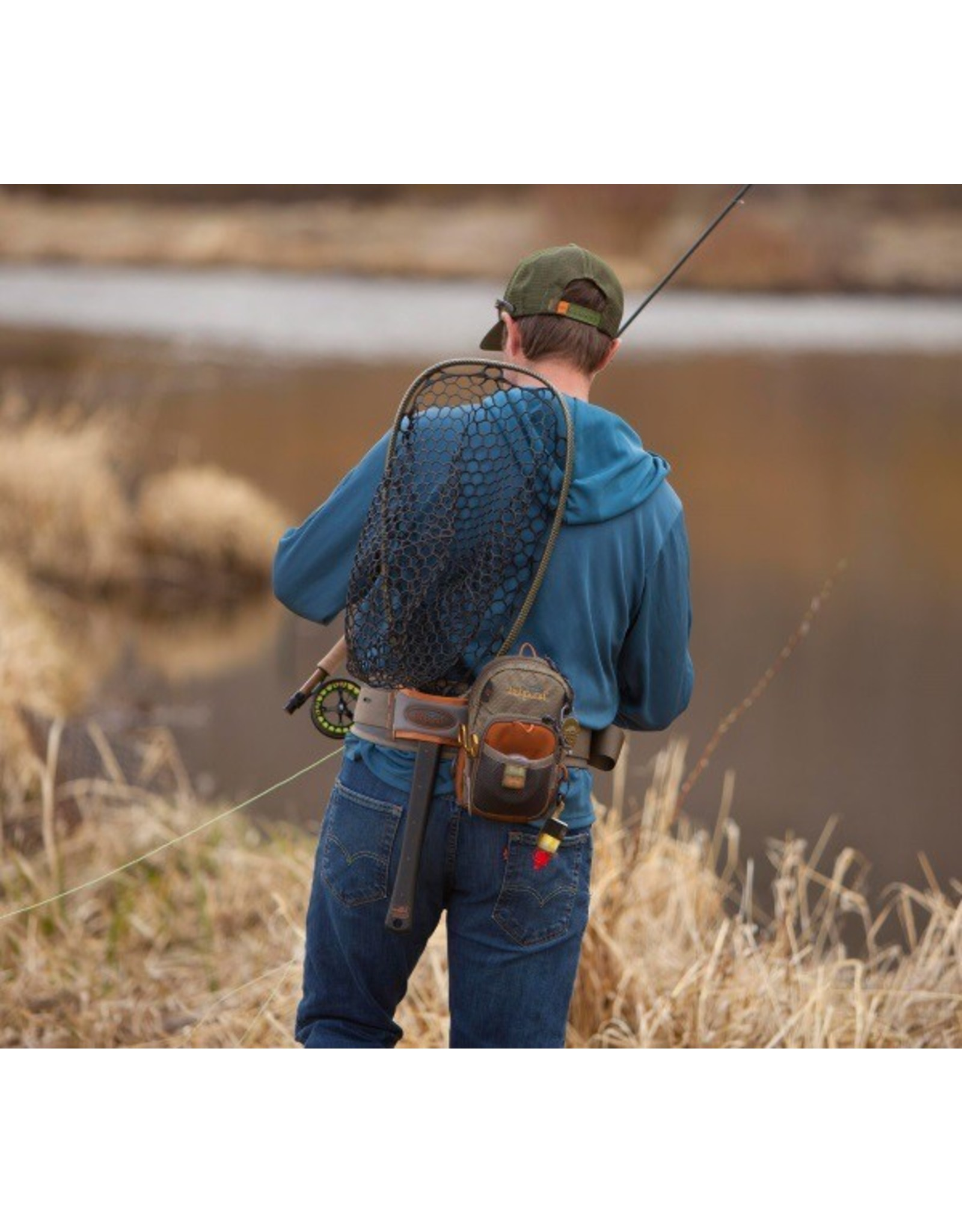 WHY JUST HAVE A BELT TO SECURE YOUR WADERS AND SUPPORT YOUR BACK?