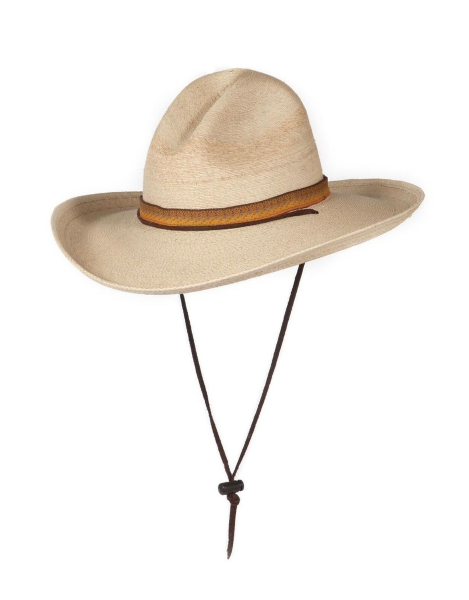 THE SWEEPING ROUND CURVED BRIM AND THE PINCHED CROWN OF A COWBOY HAT WAS POSSIBLY THE MOST DEFINING SYMBOL OF THE AMERICAN WEST.