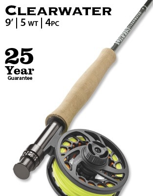 Orvis Clearwater 9' 5 Wt.  NEW