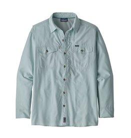 Patagonia Men's Long-Sleeved Sol Patrol® II Shirt  Atoll Blue