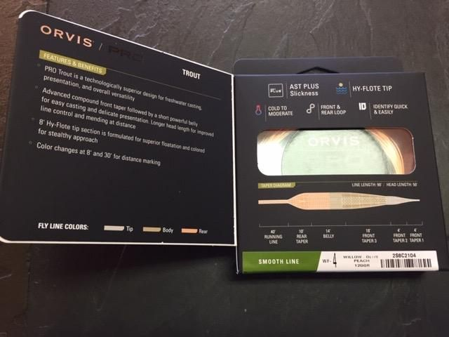 Orvis Pro Trout Line Smooth Willow Tip