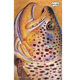 MFC Fish Gaiter Estrada's Brown Trout