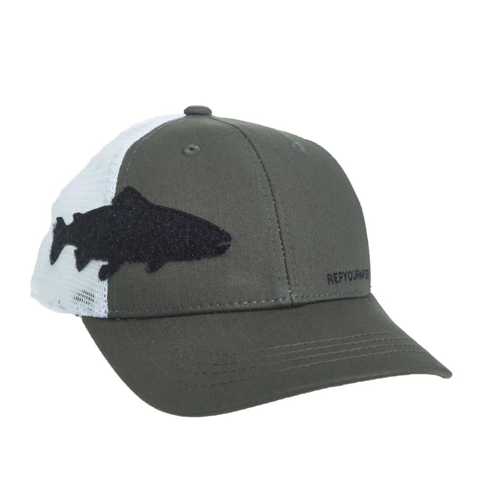 Rep Your Water Trout Fly Patch Low Profile Hat