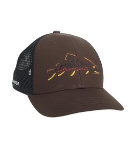 Rep Your Water Minimalist Brown Standard Fit Hat