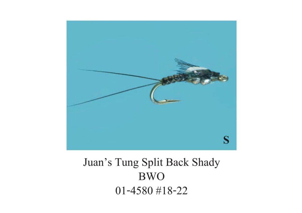 Juan's Tungsten Splitback Shady BWO (3 Pack)