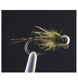 Strolis' Quill Bodied Jig Olive (3 Pack)