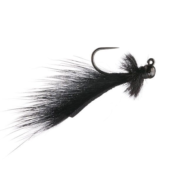 Mini Leech Jig Black14 (2 pack)