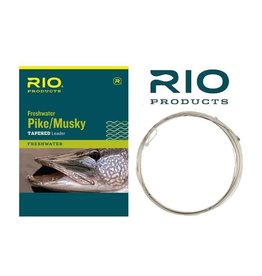 Rio Freshwater Pike/Musky Leader 20 wire with Snap