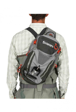 Simms Freestone Ambidextrous Tactical Fishing Sling Pack Steel