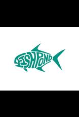 """Fishpond Thermal Die Cut Permit Sticker 6"""""""