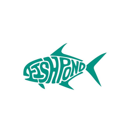 Fishpond Thermal Die Cut Permit Sticker