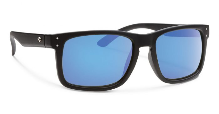 Forecast Optics Hunter Matte Black/Blue Mirror