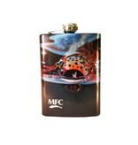MFC Stainless Steel Hip Flask-Maddox's Snack 8oz