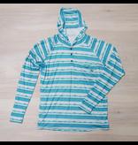 SWC Hawksbill Hoodie…Aqua Tie Dye