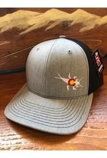 RGA Stonebug Twill Cap Grey/Black